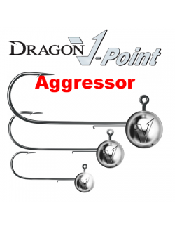 Dragon Aggressor Jig Heads, 3x